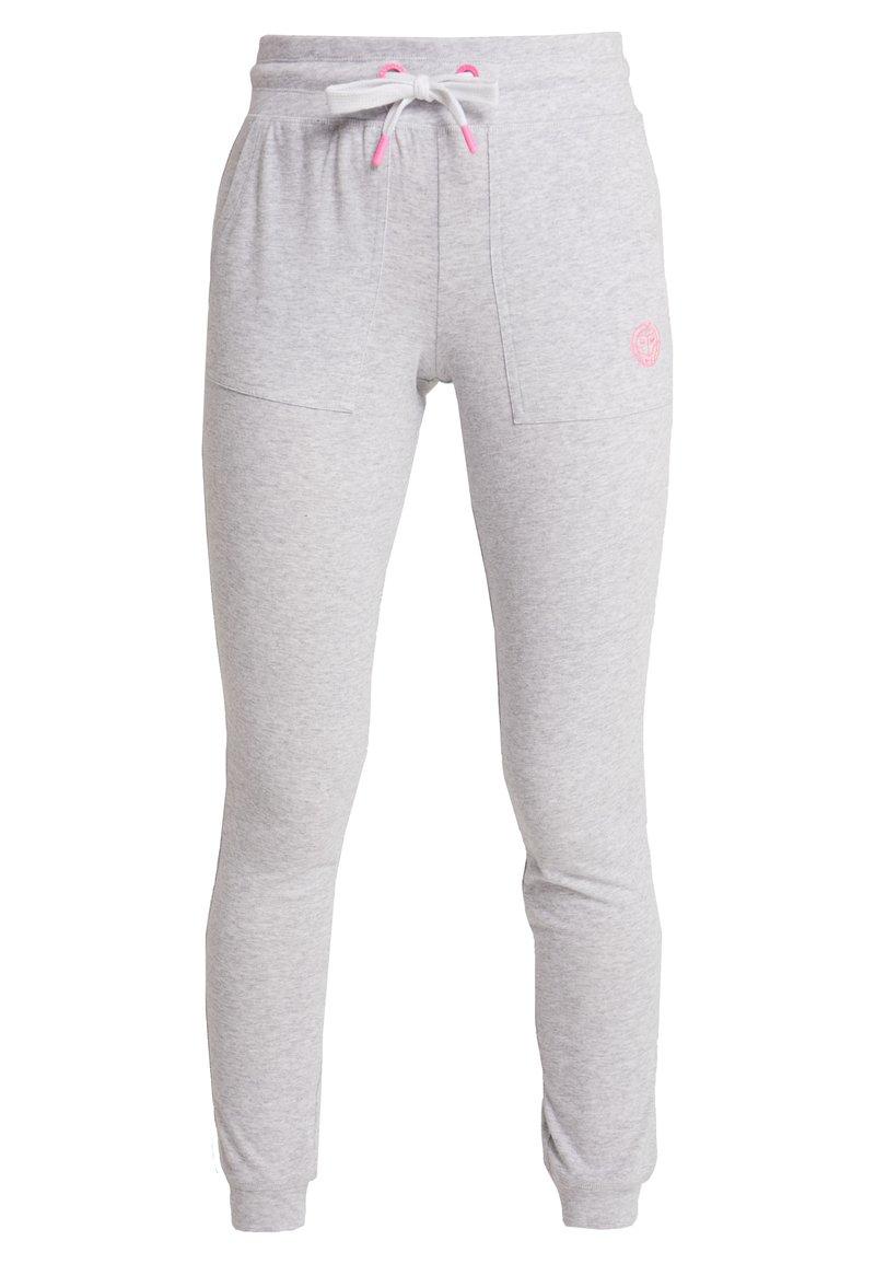 BIDI BADU - PERLA BASIC PANT - Teplákové kalhoty - light grey