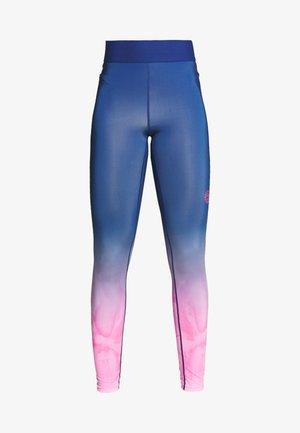 TALLIS TECH  - Leggings - pink/dark blue