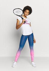 BIDI BADU - TALLIS TECH  - Leggings - pink/dark blue - 1