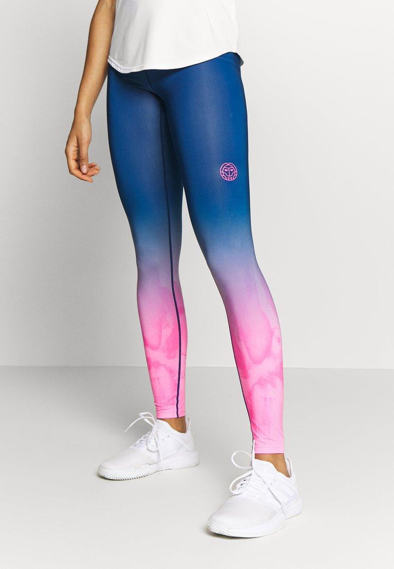 BIDI BADU - TALLIS TECH  - Leggings - pink/dark blue