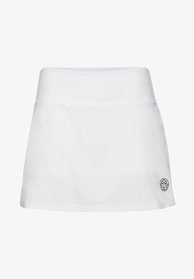 AILANI - A-line skirt - white
