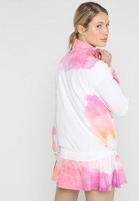 BIDI BADU - GENE TECH JACKET - Training jacket - white/pink/orange - 2