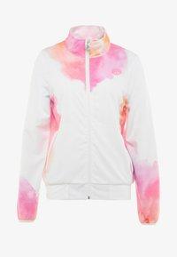 BIDI BADU - GENE TECH JACKET - Training jacket - white/pink/orange - 5