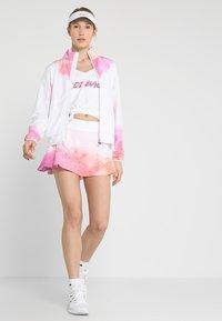 BIDI BADU - GENE TECH JACKET - Training jacket - white/pink/orange - 1