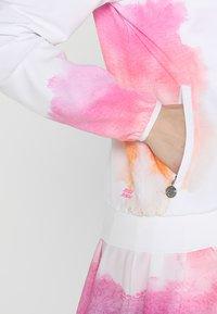 BIDI BADU - GENE TECH JACKET - Training jacket - white/pink/orange - 4