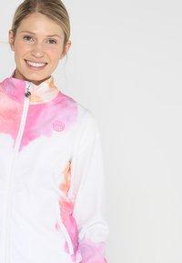 BIDI BADU - GENE TECH JACKET - Training jacket - white/pink/orange - 3