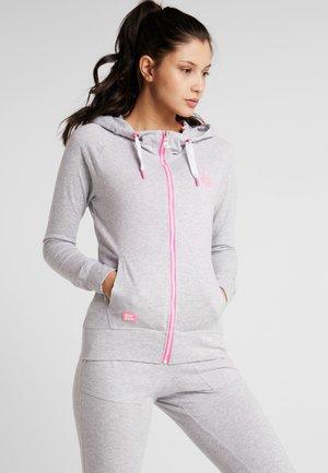 SKYE BASIC  - Zip-up hoodie - light grey