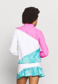 BIDI BADU - GENE JACKET - Sportovní bunda - pink/white/mint - 2