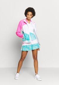 BIDI BADU - GENE JACKET - Sportovní bunda - pink/white/mint - 1