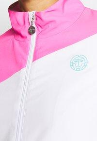 BIDI BADU - GENE JACKET - Sportovní bunda - pink/white/mint - 4