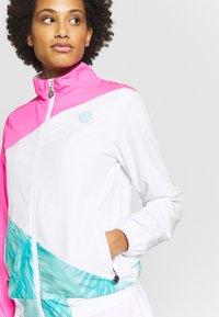 BIDI BADU - GENE JACKET - Sportovní bunda - pink/white/mint - 3