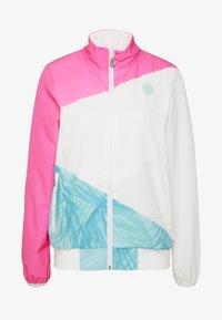 BIDI BADU - GENE JACKET - Sportovní bunda - pink/white/mint - 5