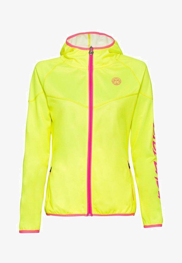 INGA TECH JACKET - Training jacket - neon yellow/pink
