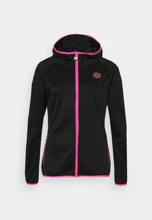 INGA TECH JACKET - Sportovní bunda - black/pink