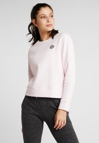 BIDI BADU - MIRELLA BASIC CREW - Sweatshirt - rose - 0