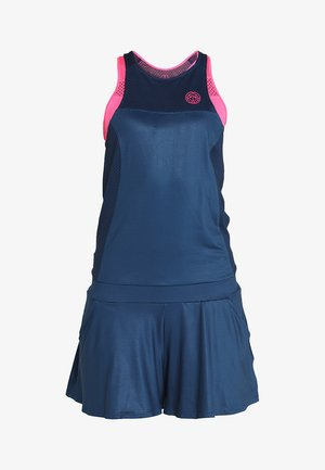 TECH JUMPSUIT 3 IN 1 - Träningsset - dark blue/pink