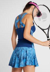 BIDI BADU - ALARA TECH DRESS 2-IN-1 - Abbigliamento sportivo - dark blue/turquoise - 2
