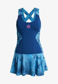 BIDI BADU - ALARA TECH DRESS 2-IN-1 - Abbigliamento sportivo - dark blue/turquoise - 8