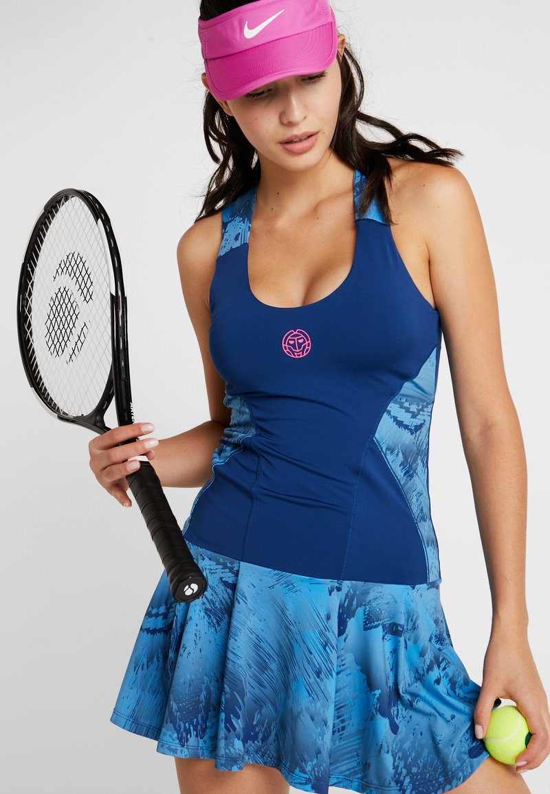 BIDI BADU - ALARA TECH DRESS 2-IN-1 - Abbigliamento sportivo - dark blue/turquoise