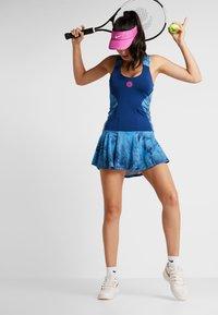 BIDI BADU - ALARA TECH DRESS 2-IN-1 - Abbigliamento sportivo - dark blue/turquoise - 1