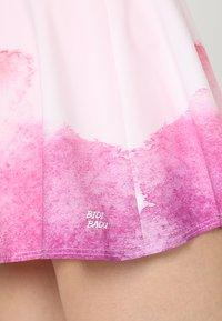BIDI BADU - MORA  - Sports skirt - white/pink/orange - 3