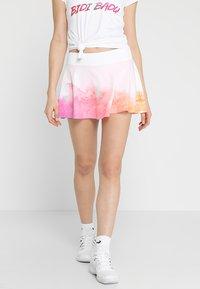 BIDI BADU - MORA  - Sports skirt - white/pink/orange - 0