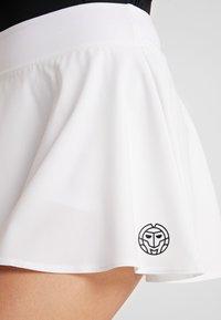 BIDI BADU - MORA TECH SKORT - Sports skirt - white - 6