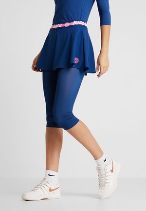 FAIDA TECH SCAPRI - Legging - dark blue/pink