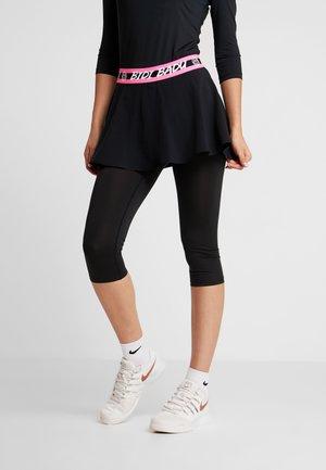 FAIDA TECH SCAPRI - Leggings - black/pink