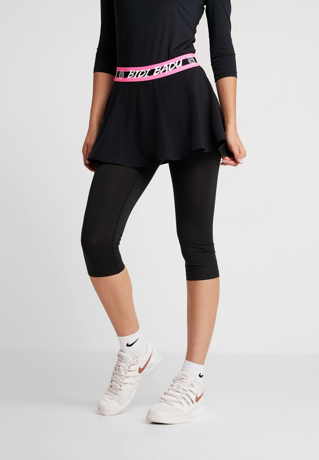 FAIDA TECH SCAPRI - Legging - black/pink