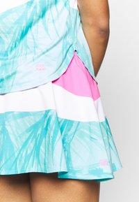 BIDI BADU - MORA TECH SKORT - Sportovní sukně - pink/white/mint - 4