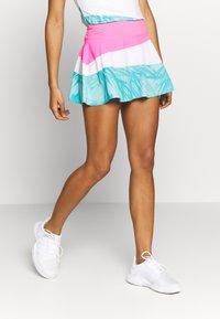 BIDI BADU - MORA TECH SKORT - Sportovní sukně - pink/white/mint - 0