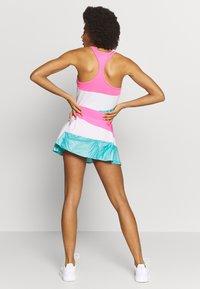BIDI BADU - MORA TECH SKORT - Sportovní sukně - pink/white/mint - 2