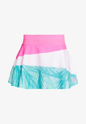 MORA TECH SKORT - Sports skirt - pink/white/mint