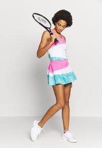 BIDI BADU - MORA TECH SKORT - Sportovní sukně - pink/white/mint - 1