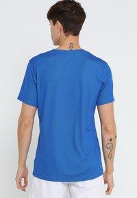 BIDI BADU - TED TECH TEE - T-Shirt print - blue/neon green - 2