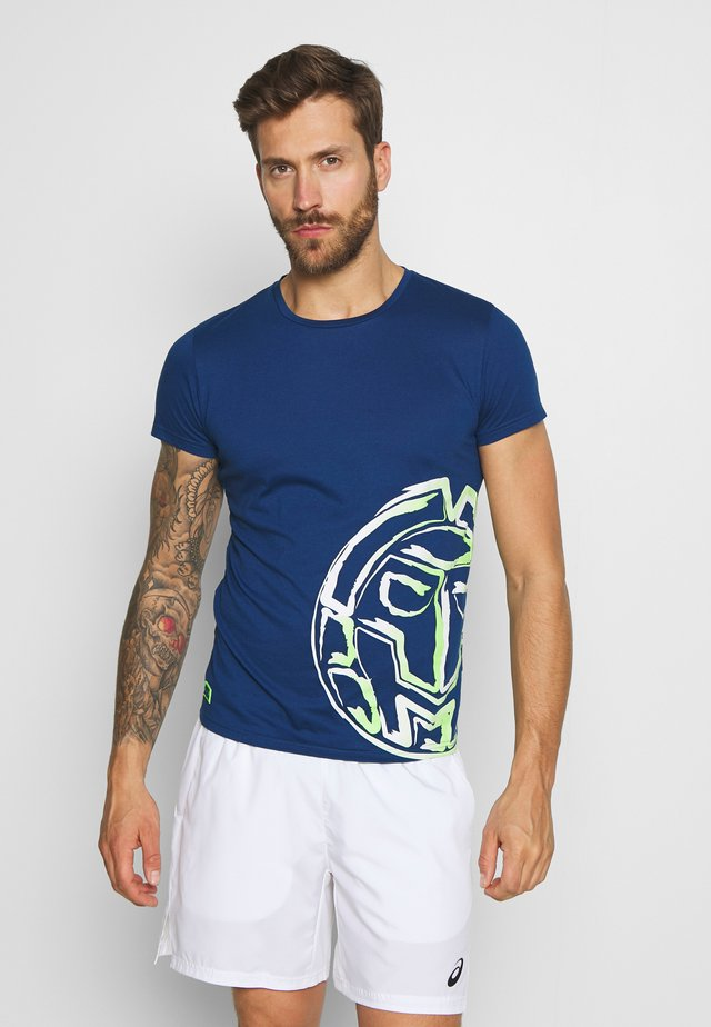 MADOX LIFESTYLE TEE - T-Shirt print - dark blue