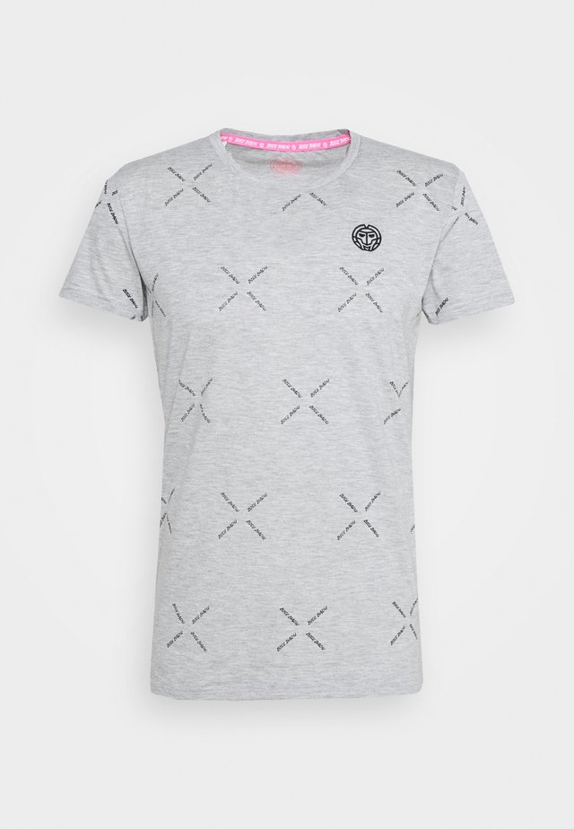 ALEKO LIFESTYLE TEE - T-shirt imprimé - light grey
