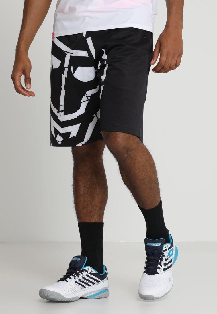 BIDI BADU - KITO TECH MULTISPORT SHORT - kurze Sporthose - black/white/pink
