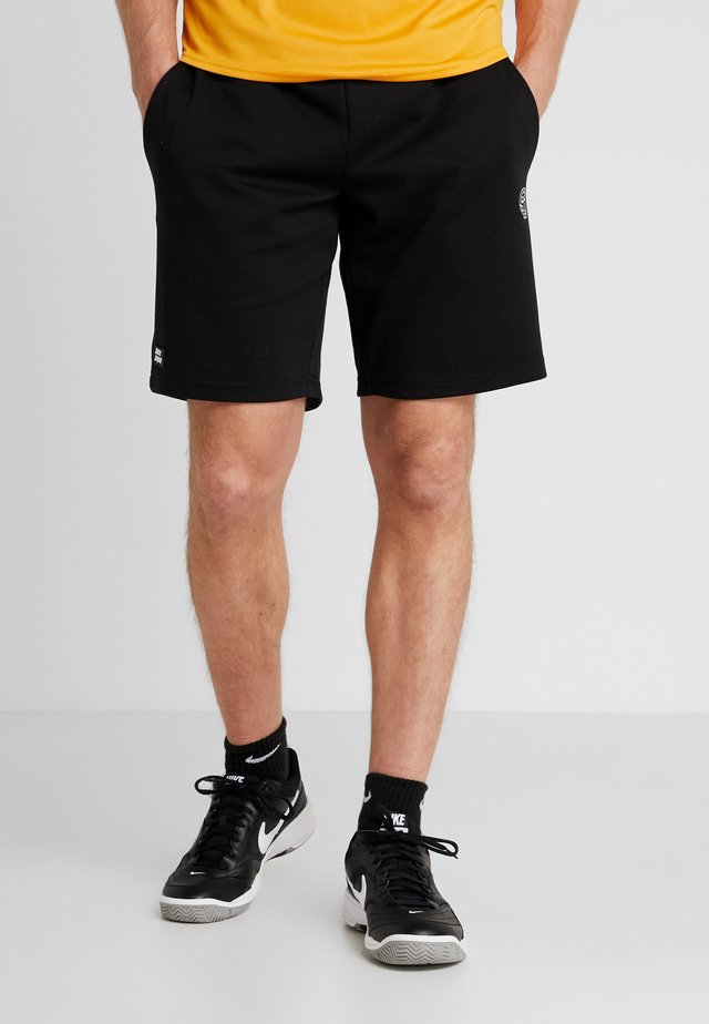 DANYO BASIC SHORT - Korte broeken - black