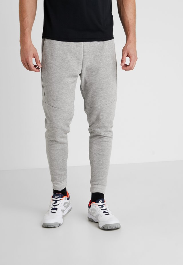 MATU BASIC CUFFED PANT - Joggebukse - light grey