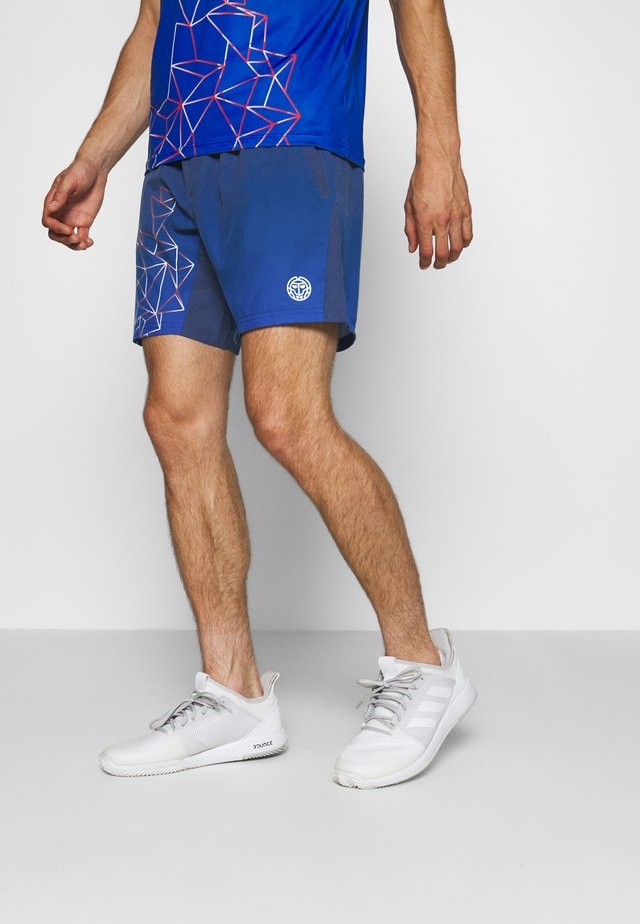 IRAS TECH SHORTS - Korte broeken - dark blue