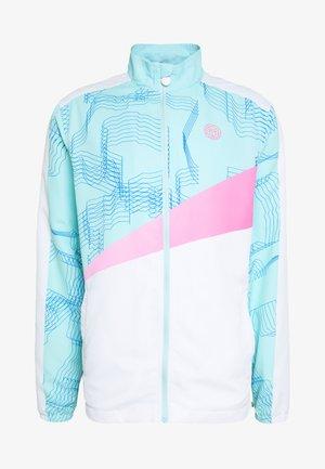 TEKU TECH JACKET - Trainingsjacke - white/mint/pink