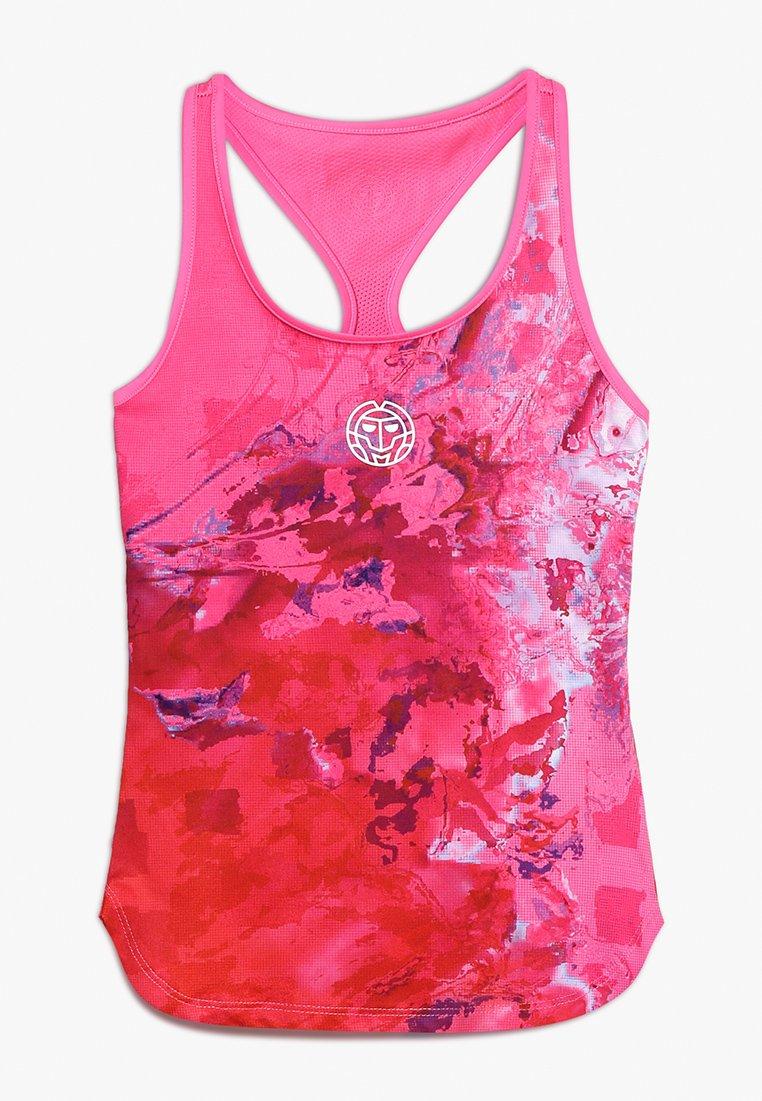 BIDI BADU - TAVIA TECH TANK - Top - pink/red