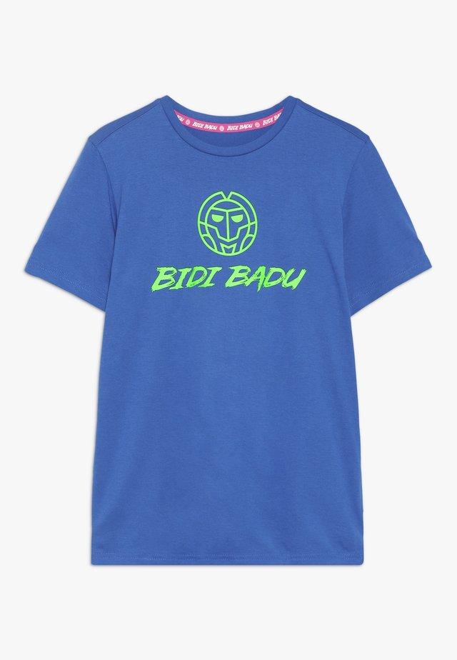 SEYDI BASIC LOGO TEE - Print T-shirt - dark blue