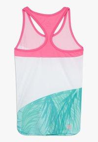 BIDI BADU - ISALIE TECH TANK - Sports shirt - pink/white/mint - 1