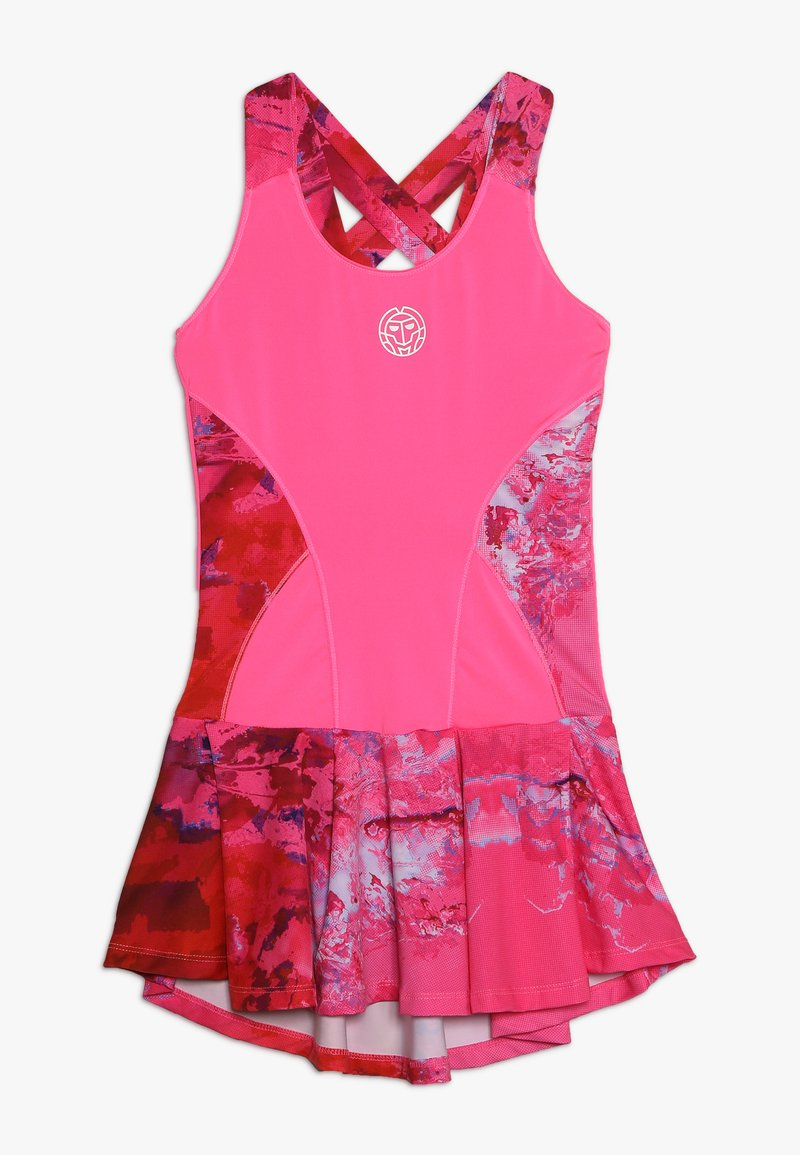 BIDI BADU - ZADE TECH DRESS  2-IN-1 - Vestido de deporte - pink/red