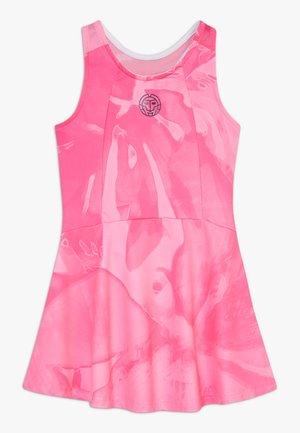 YLVIE TECH DRESS - Sports dress - pink/dark blue