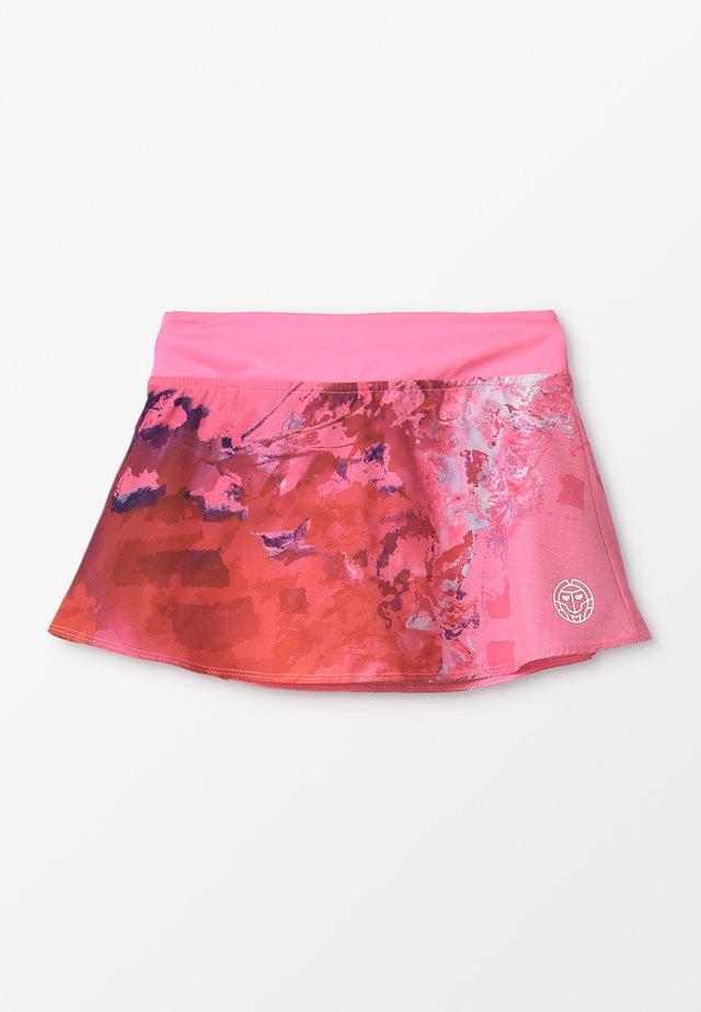 ZINA TECH SKORT - Sportrock - pink/red