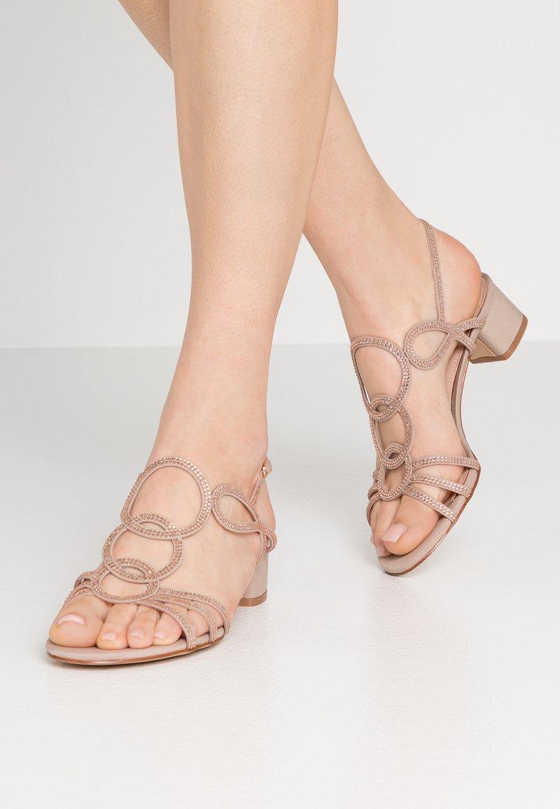 Bibi Lou Wide Fit - WIDE FIT - Sandals - nude